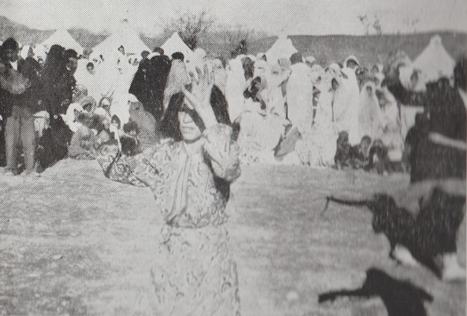 Ismailis celebrating the Aga Khan's visit to Mahallat 1951 Barakah