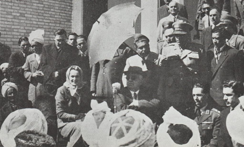 Aga Khan III in Iran 1951 Barakah