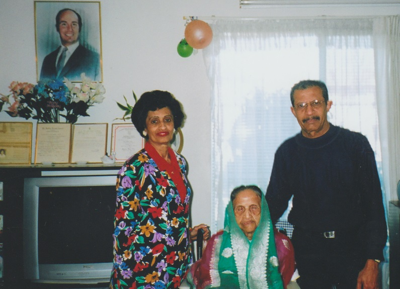 Kamarbai Premji, Gulshan Premji and Badru Premji, Barakah