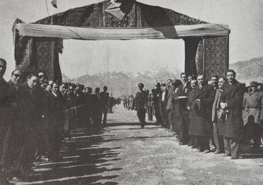 Victory Gate Mahallat Iran, Aga Khan III visit, Barakh