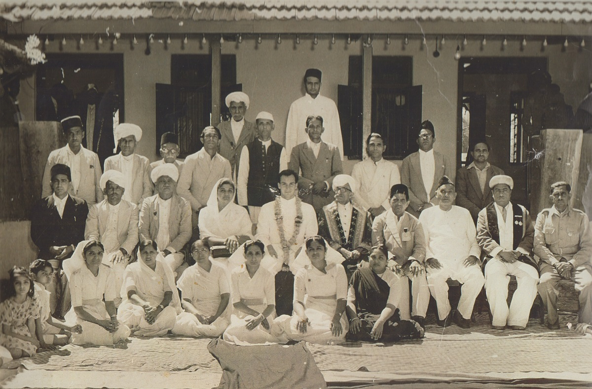 Aga Khan Takhtnashini Rajkot India, 1957, Barakah