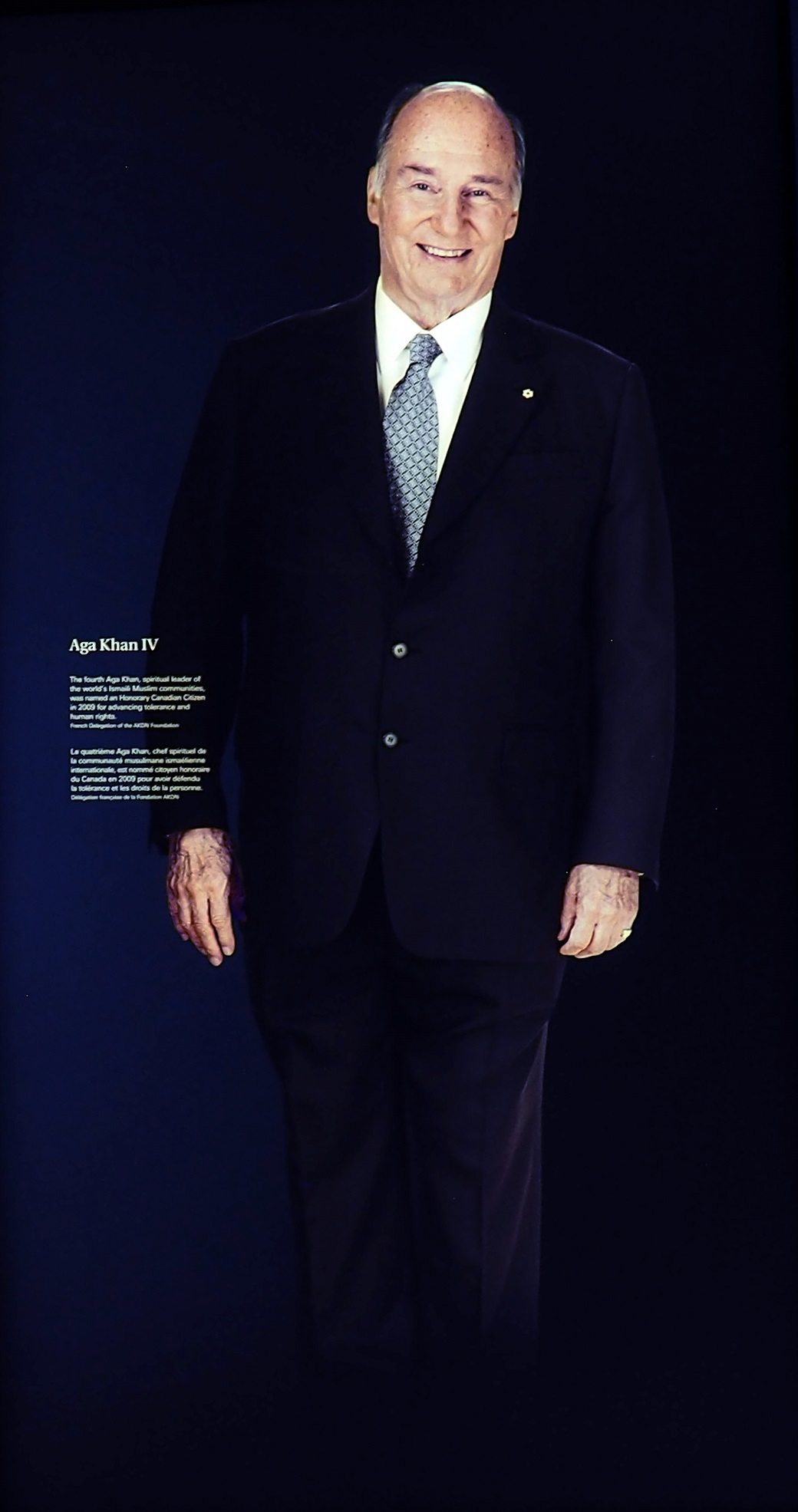 His Highness the Aga Khan Cnadian Museum for Human Rights Barakah Simerg