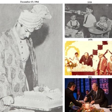 His Highness the Aga Khan, Mawlana Hazar Imam, birthdays cake cutting, Barakah and Simerg