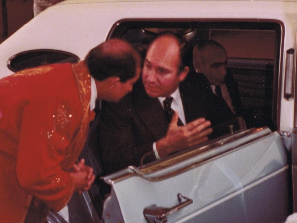 Aga Khan, Mawlana Hazar Imam, Vancouver Canada, 1978. Barakah.