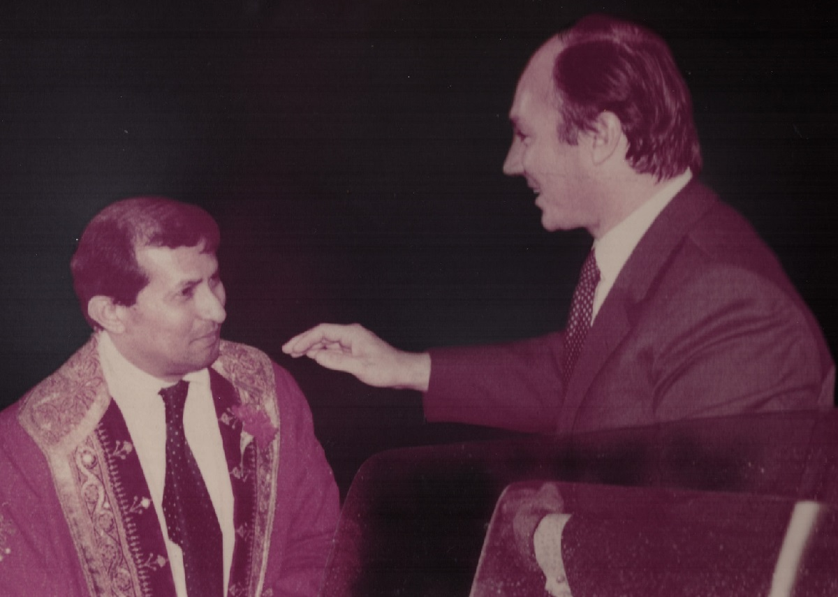 Mawlana Hazar Imam, His Highness the Aga Khan, Vancouver, Canada, 1978, Barakah.