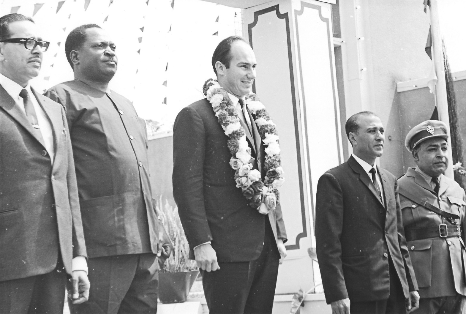 Amin Jaffer collection: Exclusive photos of Mawlana Hazar Imam's visit to Arusha, Tanzania, in 1966