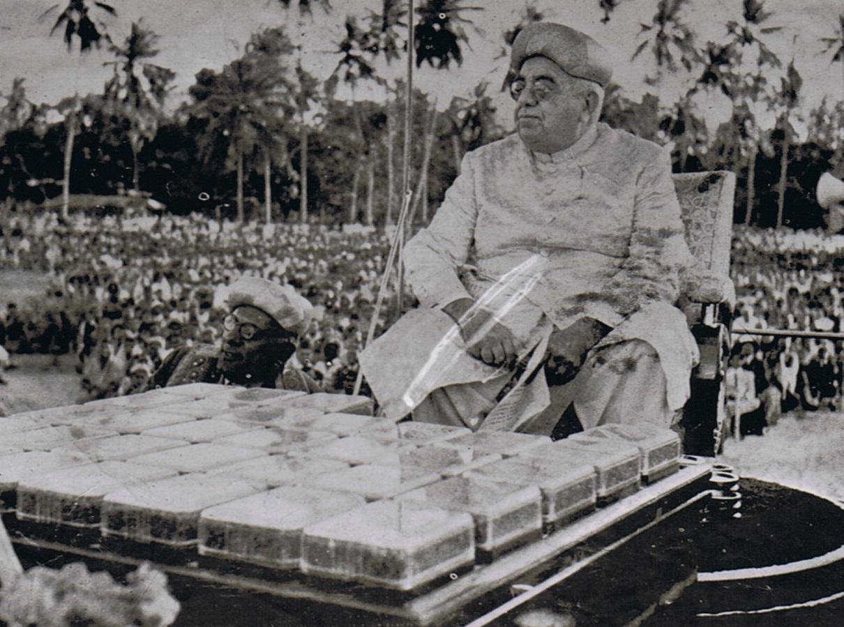 Aga Khan III Diamond Jubilee Dar es Salaam 1945