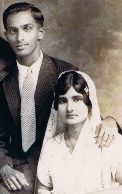 Noorali Harji and Noorbanu Suleman Bhanji