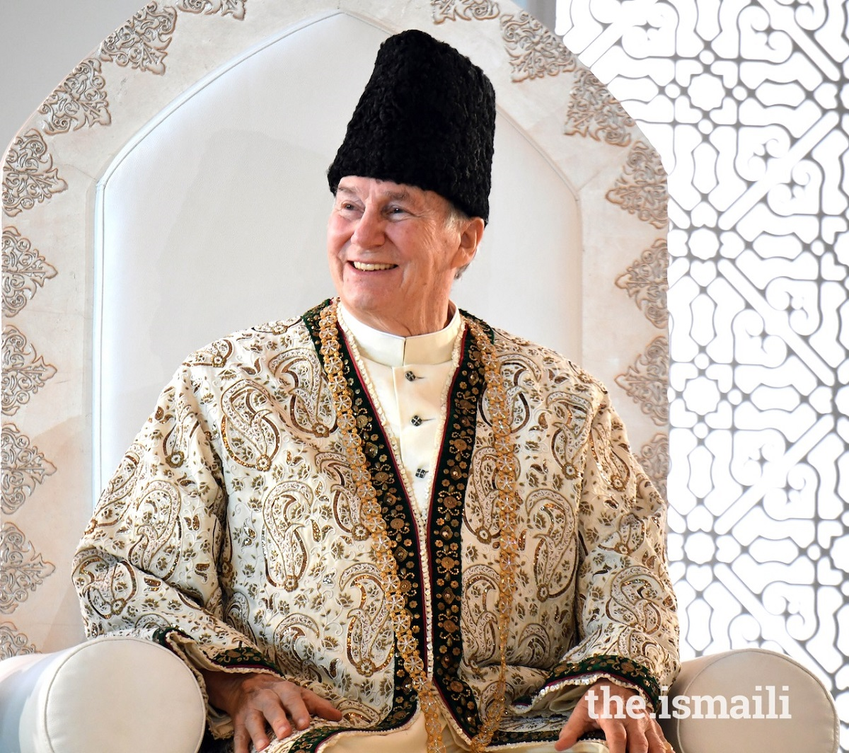 Mawlana Hazar Imam, His Highness the Aga Khan, sends Talika Mubarak to Ismailis around the world  on the occasion of his 63rd Imamat Day