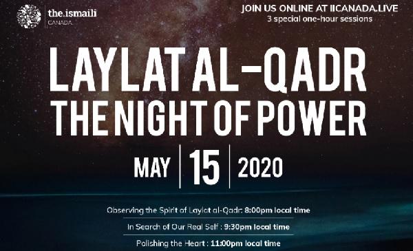 Laylat al-Qadr Canada Simerg