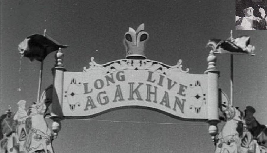 Long Live Aga Khan Banner at his Platinum Jubilee Celebrations in Karachi, Barakah