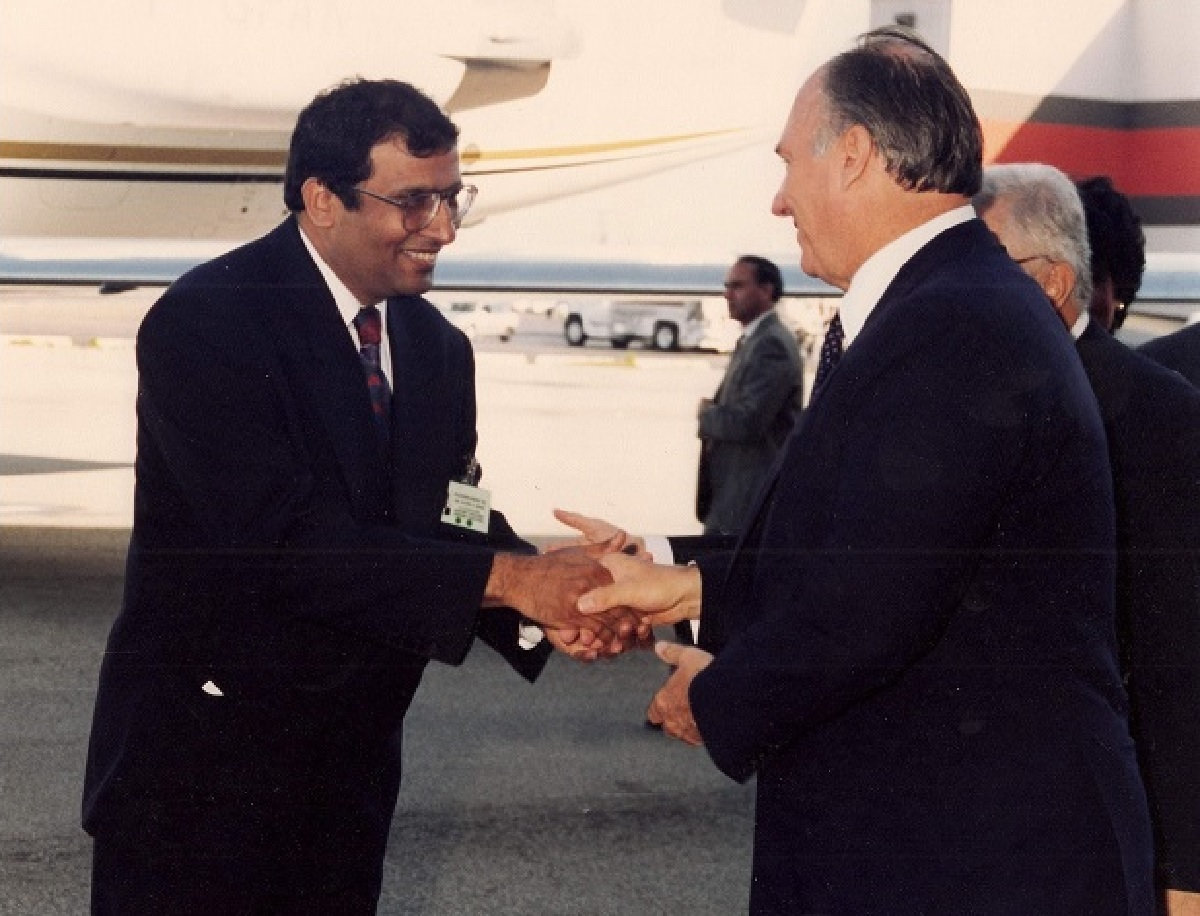 His Highness the Aga Khan, Mawlana Hazar Imam and Nazir Nensi