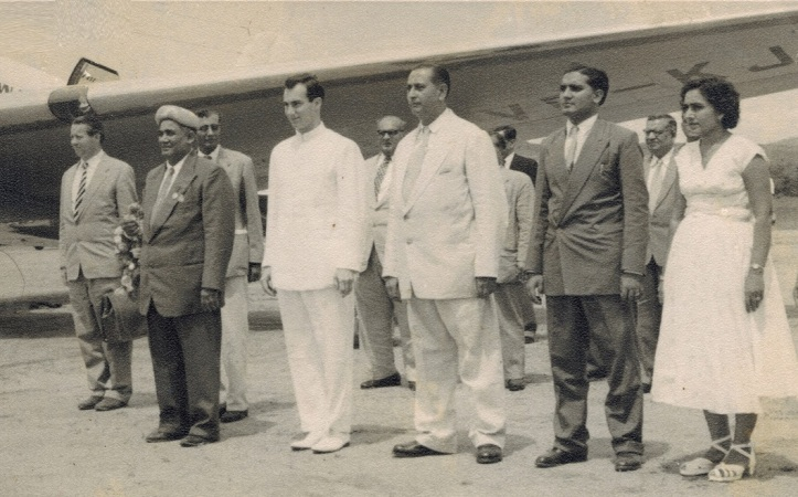His Highness the Aga Khan, Mawlana Hazar Imam, Kigoma, Tanganyika, 1957, Simerg and Barakah.