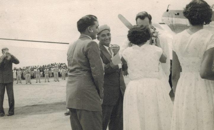 His Highness the Aga Khan, Mawlana Hazar Imam, Kigoma, Tanganyika 1957 Tanzania Simerg and Barakah.