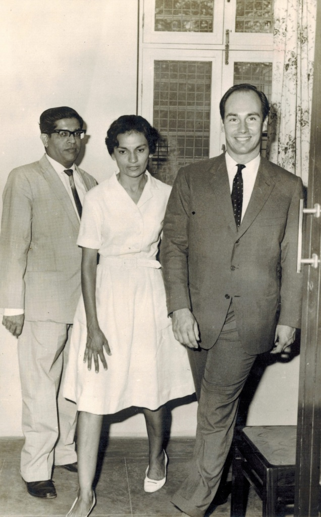 Aga Khan visits Girls Hostel in Dar es Salaam Tanzania in 1966 Barakah and Simerg photo