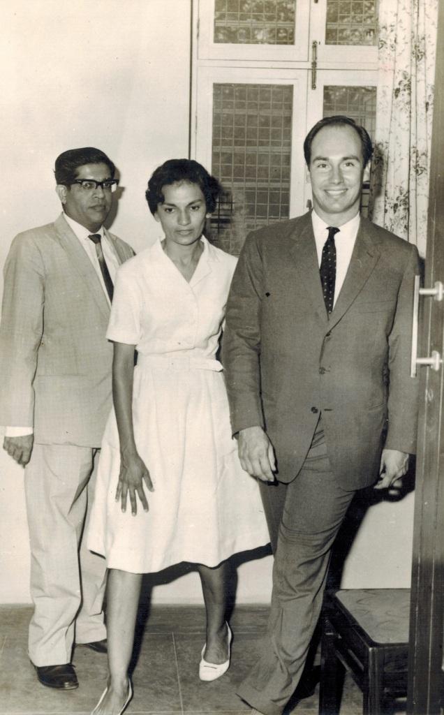 Aga Khan visits Girls Hostel in Dar es Salaam Tanzania in 1966 Barakah and Simerg photo
