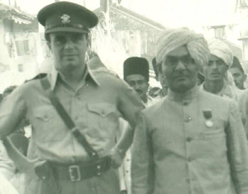"""Primus in Armis"", a new book on a British Regiment, makes a rare reference to Prince Aly Khan's military services in the British and US Armies and his contribution to the Allied Forces"