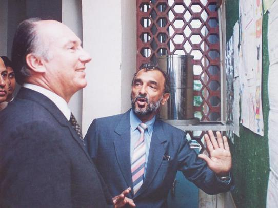 Aga Khan and Zul Khoja Barakah Photo.