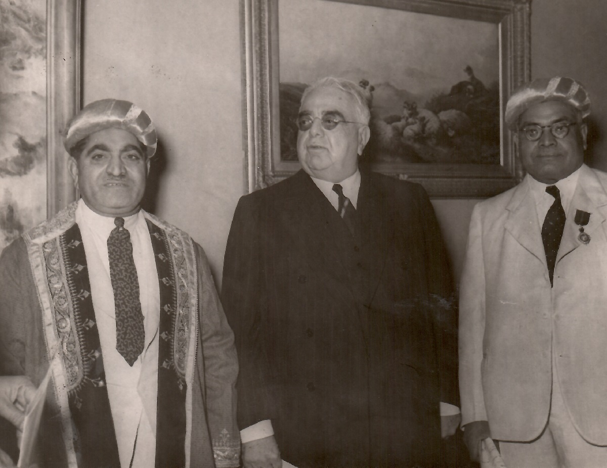 Aga Khan visits to South Africa, East Africa and Aga Khan III burial in Aswan, Egypt, and ceremonial installation of Aga Khan IV.  Barakah and Simerg photos from Zul Khoja Collection.