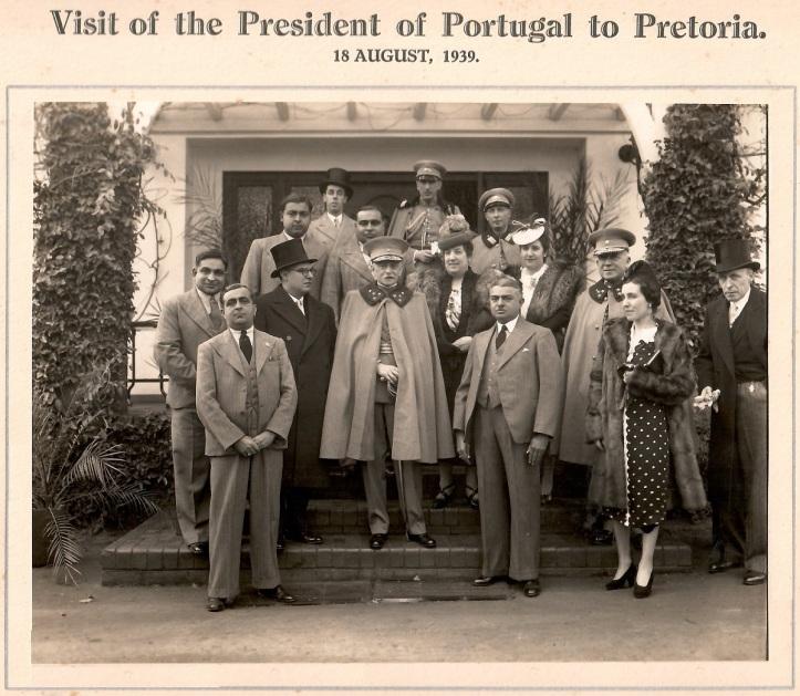 Ismaili leaders of South Africa with Portugal President ANTONIO OSCAR de FRAGOSA CARMONA Barakah