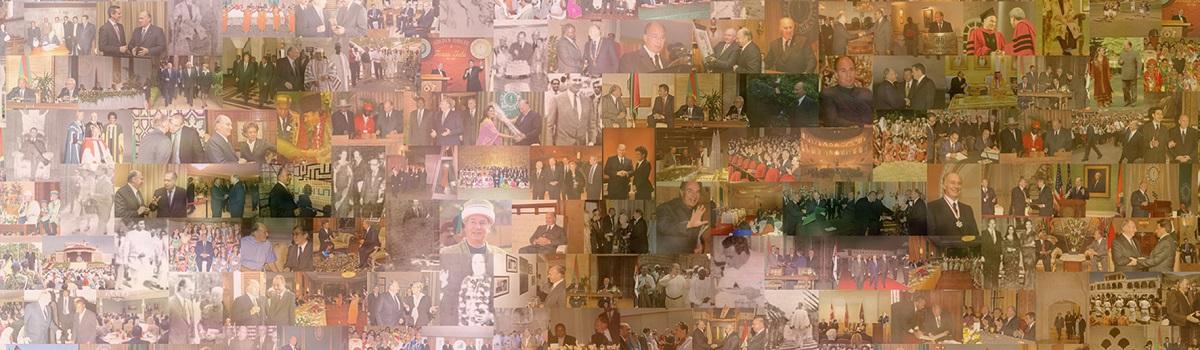 His Highness the Aga Khan Digital Portrait by Akbar Kanji Barakah