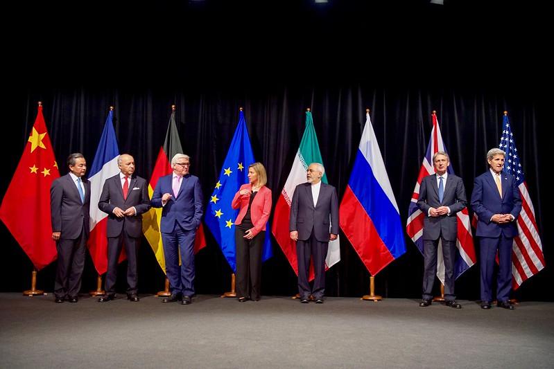 John Kerry Iran Nuclear Deal Group Photo