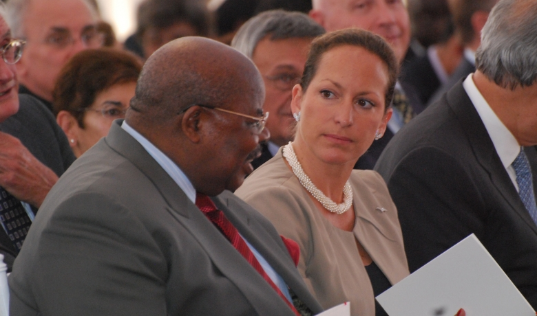 Zahra Aga Khan and Benjamin Mkapa Barakah