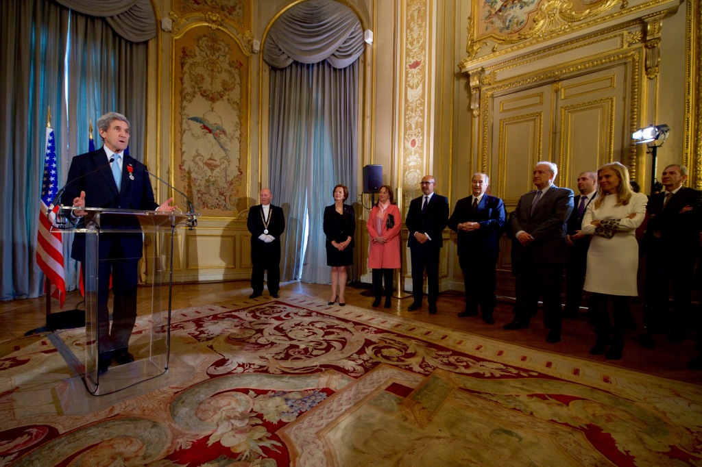John Kerry Grand Officer of the Légion d'honneur France