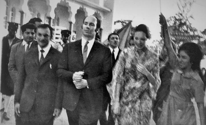 Mawlana Hazar Imam and Begum Salimah Aga Khan visit Mbale, Uganda,1971