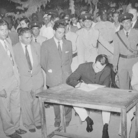 Aga Khan Soroti Muslim Society signing ceremony.