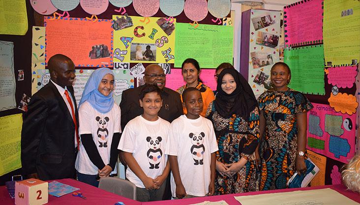 Benjamin Mkapa Aga Khan Primary School visit Barakah