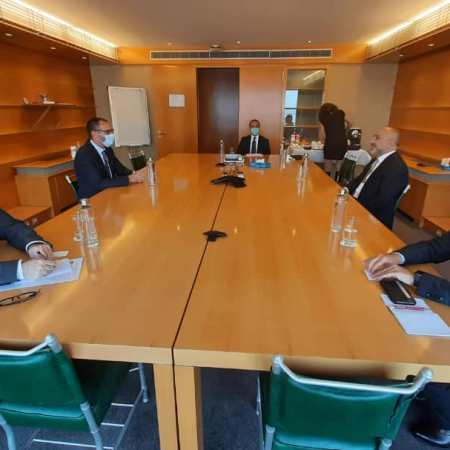 Prince Rahim Aga Khan and Afghanistan Foreign Minister