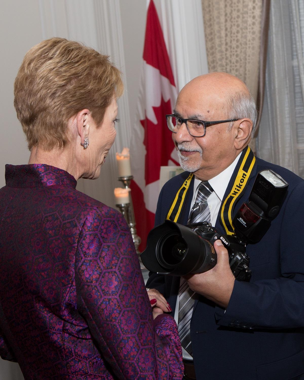Princess Salimah Aga Khan and Sultan Bhaloo SOS Chidrens Village Function Vancouver 2017 Barakah
