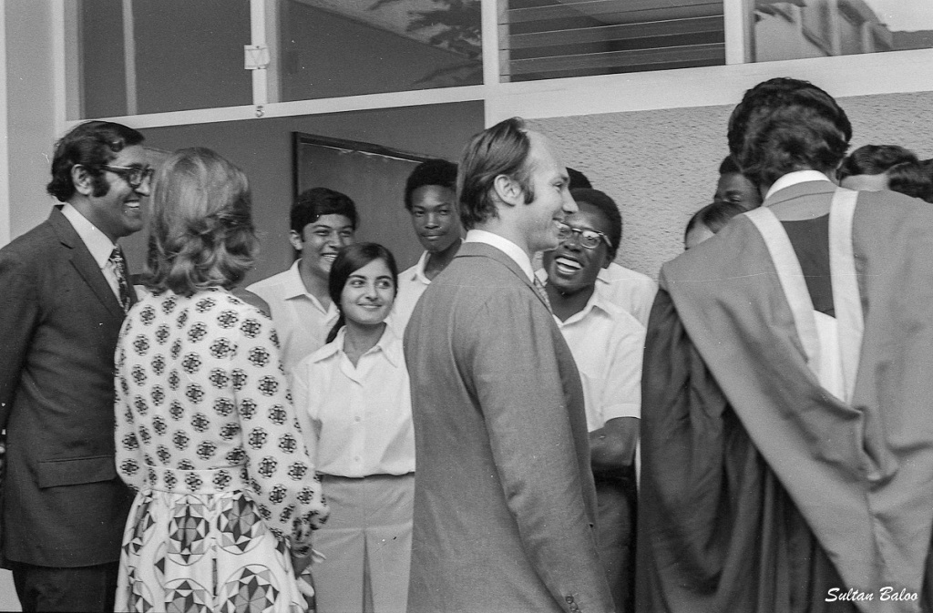 Aga Khan and Salimah Aga Khan in Uganda 1972 Barakah and Simerg