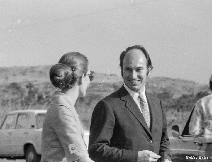 Aga Khan and Salimah Aga Khan in Uganda 1972 Barakah and Simerg, Equator Crossing Uganda