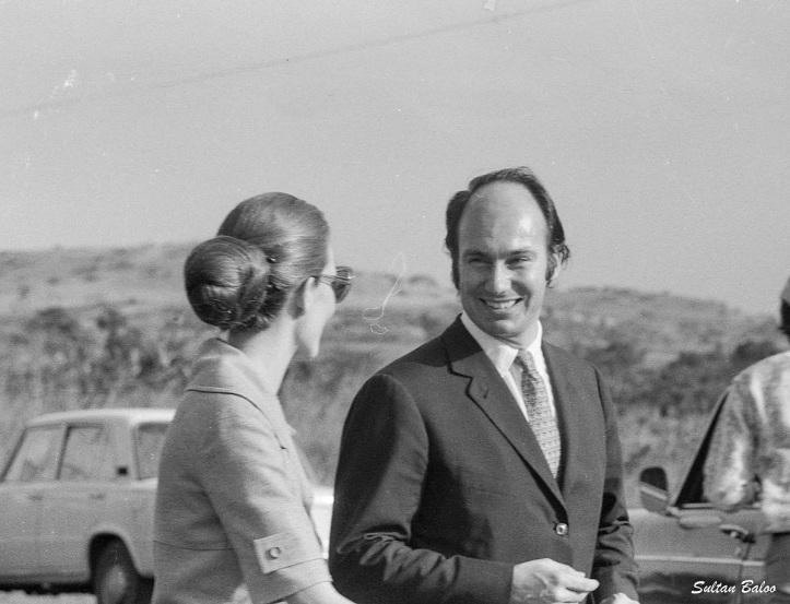 Aga Khan and Salimah Aga Khan in Uganda 1972 Barakah and Simerg, Equator Crossing Uganda