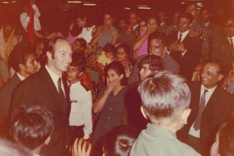 Aga Khan in Uganda 1972