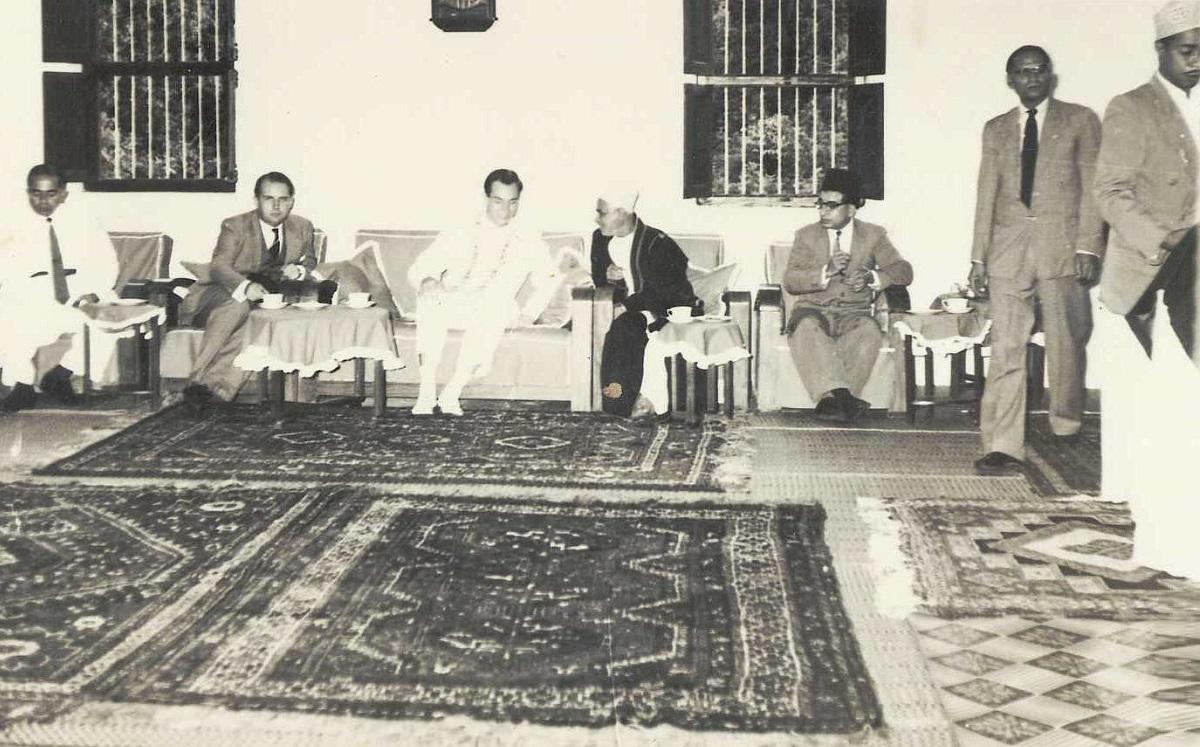 Aga Khan in Wete Pemba Barakah Tea Party