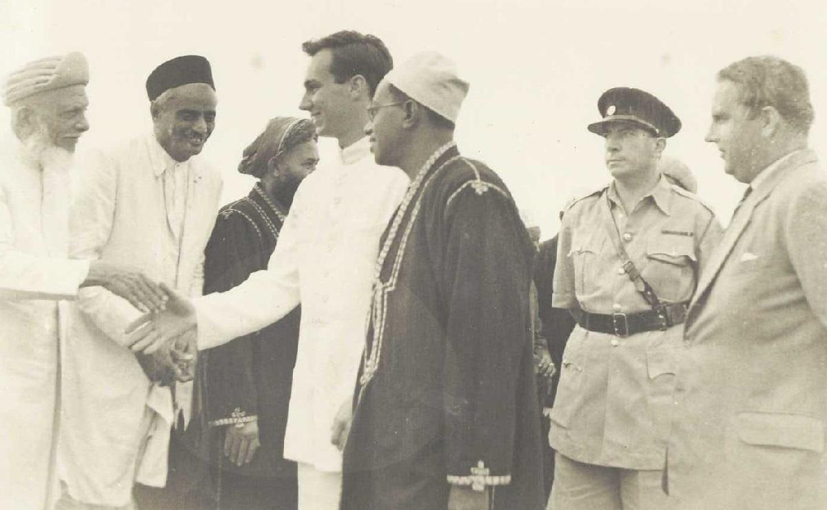 Aga Khan in Pemba 1957 Barakah