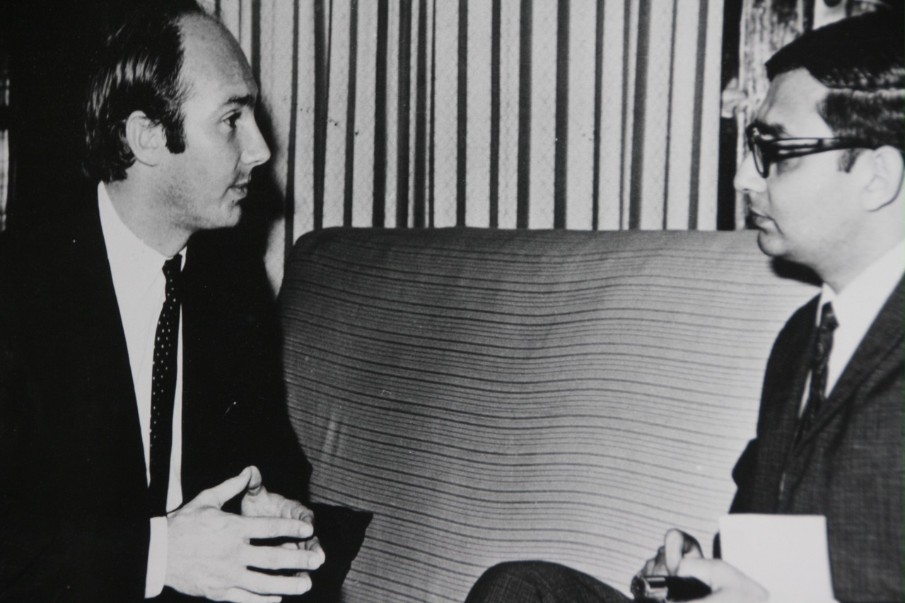 Aga Khan interviewed by Mansoor Ladha, now a Calgary based resident and formerly a journalist with the Tnazanian daily, The Standard