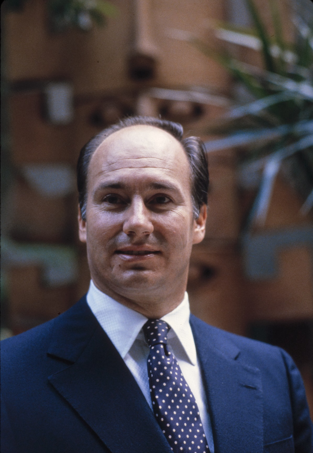 Photographs of Mawlana Hazar Imam His Highness the Aga Khan, and Members of His Family from the Bernard Gotfryd Collection at the US Library of Congress