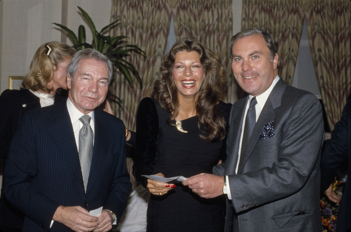 Gotfryd, Bernard, Yasmin Khan, Rita Hayworth's daughter, party for Alzheimer's fundraiser, NYC, LOC photo