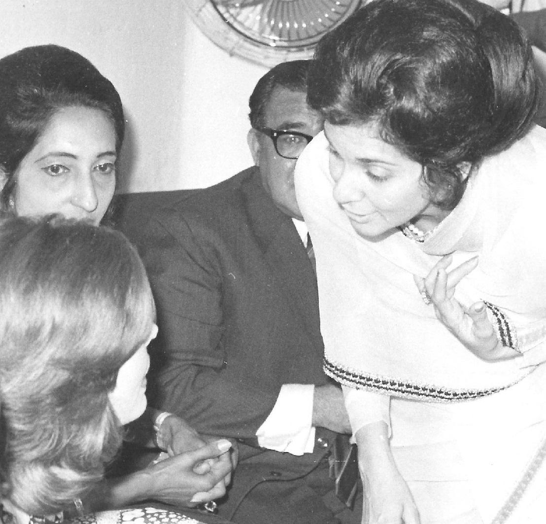 Begum Salimah Aga Khan Uganda visit 1972 with Mawlana Hazar Imam, Barakah