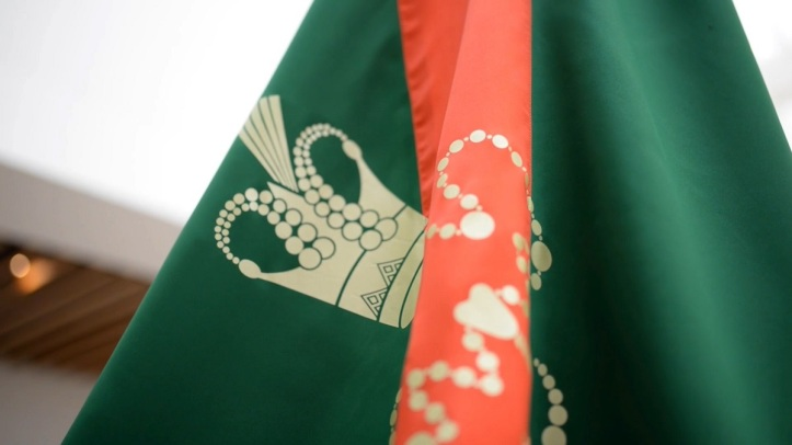 The flag of the Ismaili Imamat