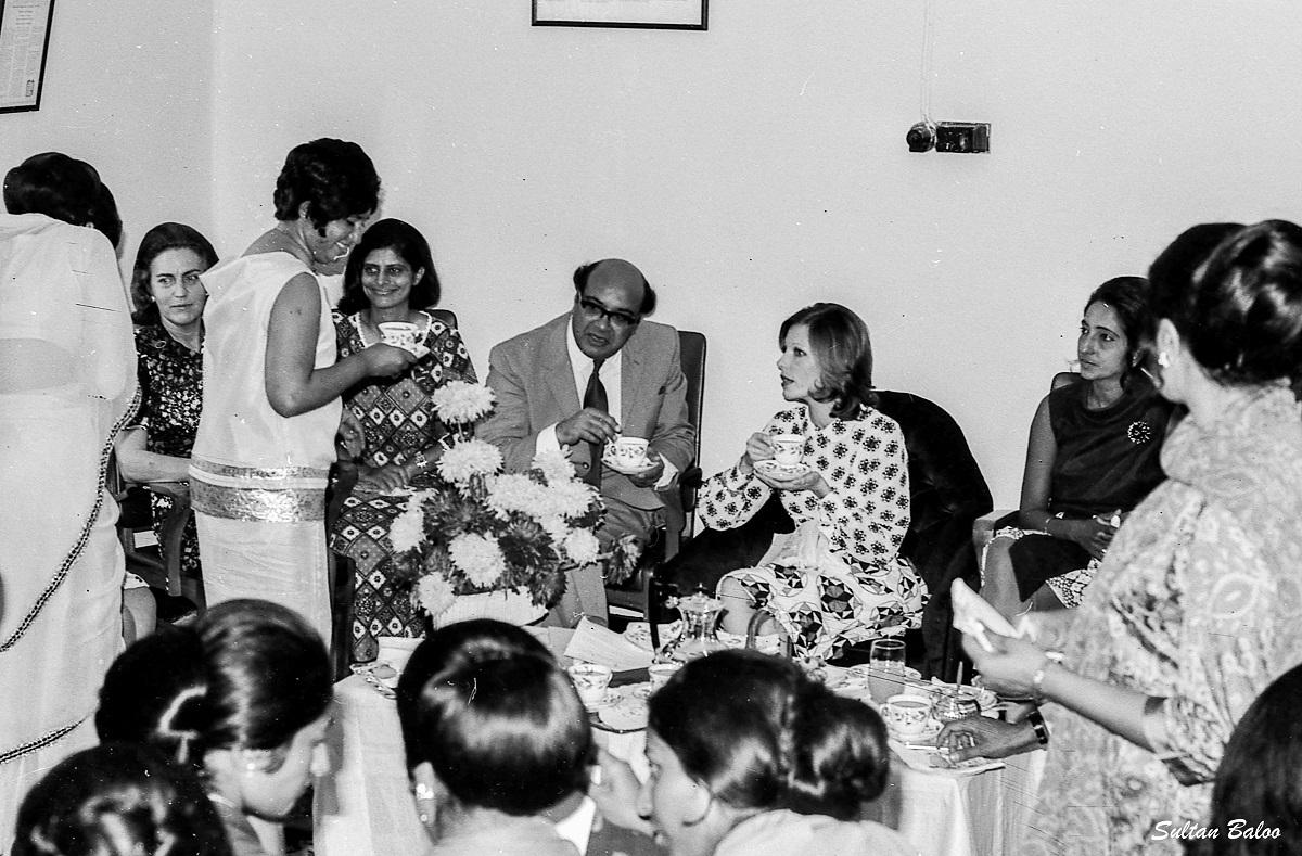 Begum Salimah Aga Khan visits Aga Khan Health Board, Uganda 1972. Barakah Dedicated to Mawlana Hazar Imam
