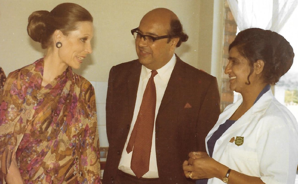 Photos of Begum Salimah's Visits to Aga Khan Health Centres in Kampala and Masaka in 1972 from the (Late) Dr. Rahimtula Jamani Family Collection, UK