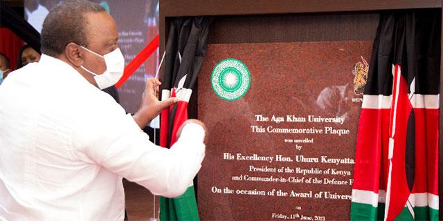 Uhuru Kenyatta Aga Khan University Charter Barakah