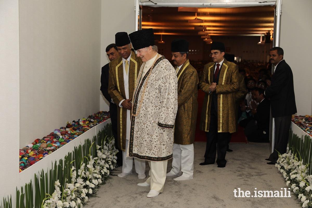 Aga Khan Diamond Jubilee visit India 2018, Barakah