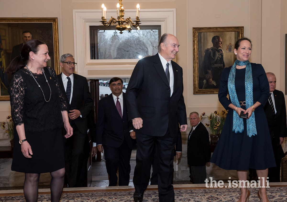 Aga Khan Rideau Hall Diamond Jubilee Julie Payette, Governor General of Canada, Barkah