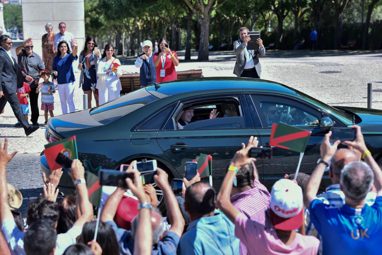 Aga Khan Diamond Jubilee Portugal motorcade Parque Eduardo VII
